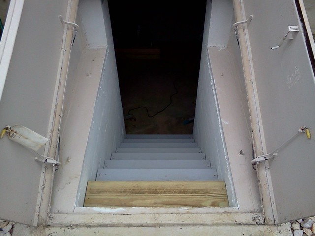 Completed Bilco Stairs Looking Down Flickr Photo Sharing