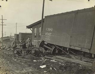 Delco Factory, Dayton, OH - 1913 Flood
