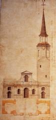 Montréal 1722. Ancienne église Notre-Dame.