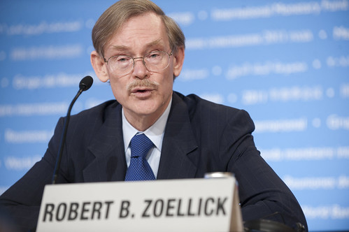 World Bank/IMF 2011 Spring Meetings World Bank President Zoellick opening press briefin