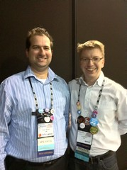 @therab and @andypiper  at #IBMImpact