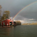 April 13 2011 WU Boathouse pot of gold