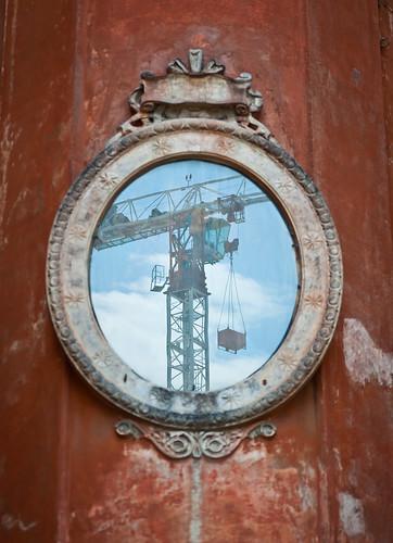 lo specchio di un restauro