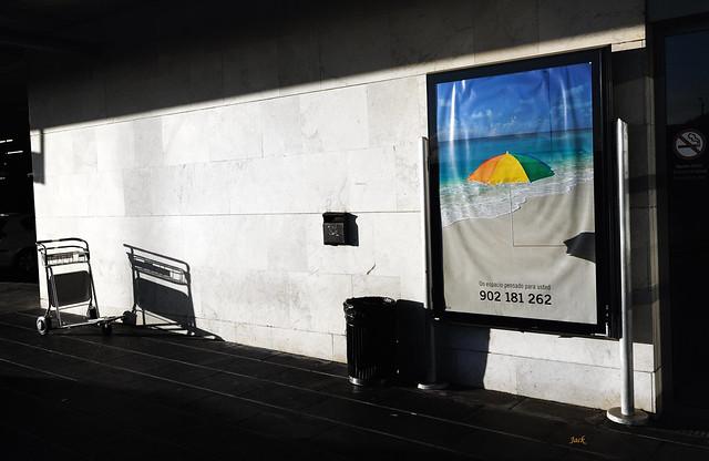 I'm back - aeroporte Norte Los Rodeos - Tenerife - Canaries