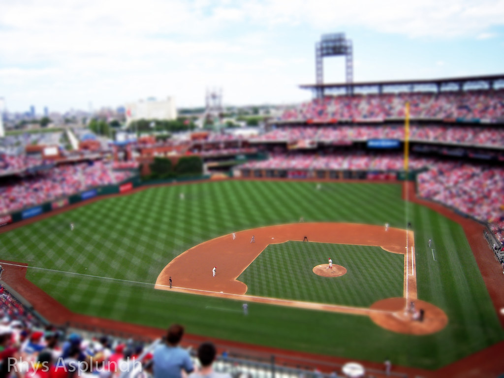 Phillies Game [TILT-SHIFT]