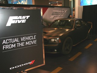 Dodge Charger from Fast Five Movie