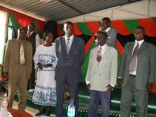 GGM leaders gathering in Eldoret