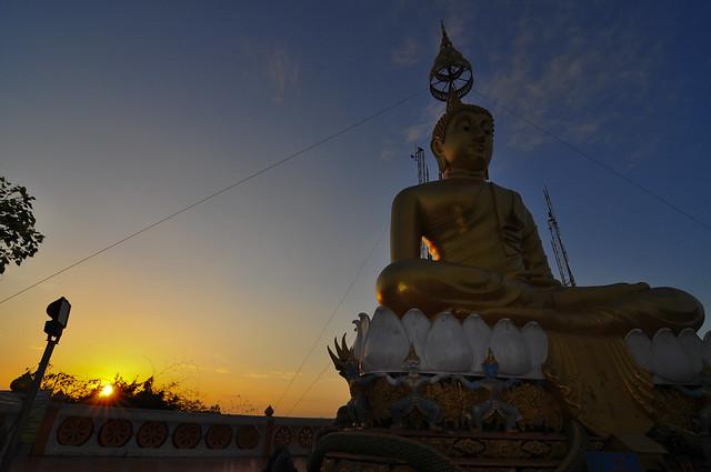Buddha at Wat Tham Sua
