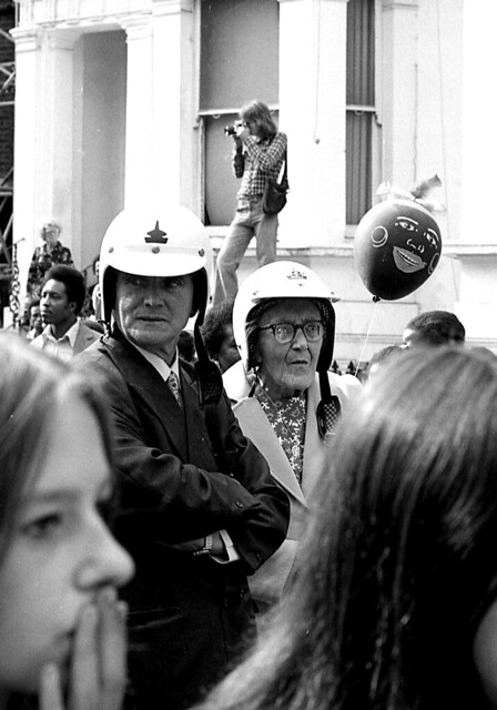 I think we took a wrong turn - Notting Hill Carnival 1970's