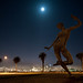 Bliss Dancing Under a Moon II by Matthew Almon Roth
