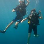 Scuba Diving Descent - Menjangan Island, Indonesia