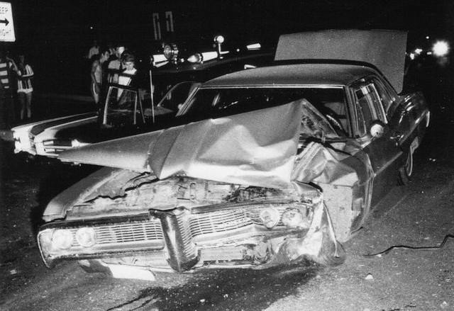 White Impala Car Accident