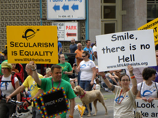 Minnesota Atheists in Parade