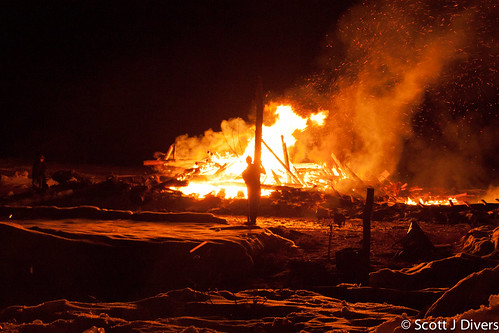 canada alberta beaverlodge burningcow logansherk