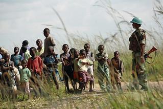 MONUC Peacekeeper Patrols Katanga Area