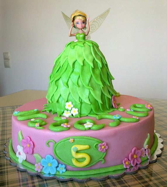 tinkerbell birthday cake Photo