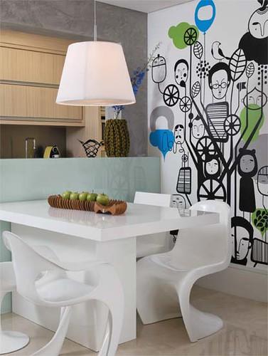 4 desain tatafurniture ; desain apartemen kecil