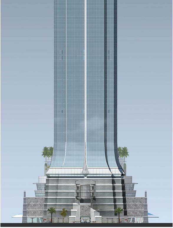 Homefront Tower Elevation : Jakarta signature tower m ft fl