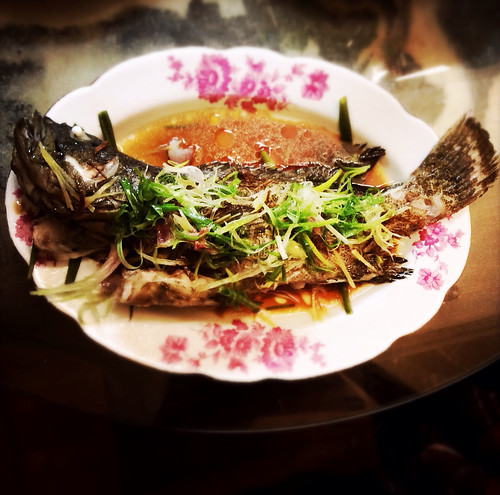 chinese, fish, Garoupa, hong kong, recipe, steamed, 石斑, 蒸,