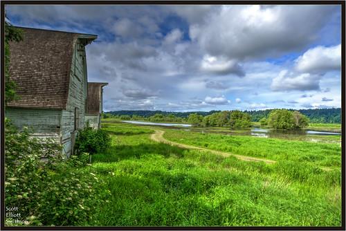 sky nature barn canon eos washington barns 7d wetlands olympia pacificnorthwest pugetsound fusion washingtonstate nisqually wetland thurstoncounty nisquallynationalwildliferefuge eos7d dtwpuck scottsmithson scottelliottsmithson