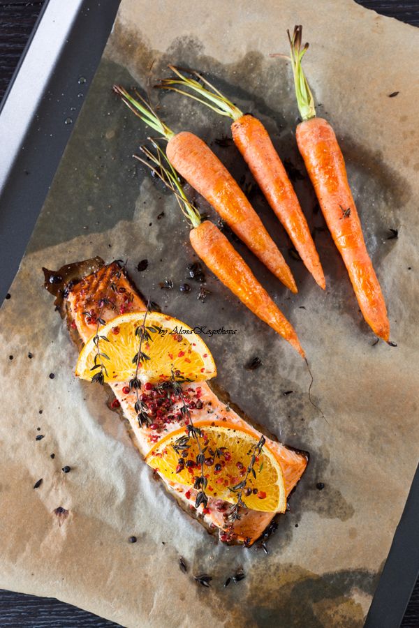 Roasted Salmon with Oranges-47
