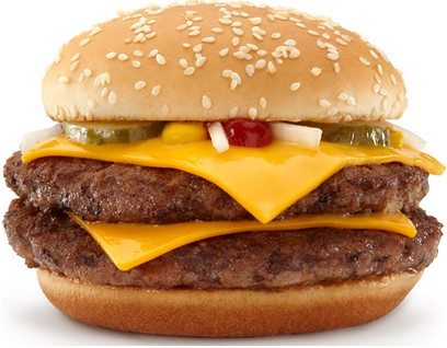 Double Quarter Pounder with Cheese