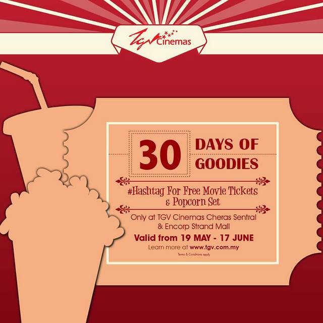 TGV Cinemas Lancar Kempen 30 Days of Goodies