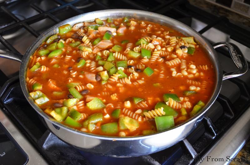 Chicken-Enchilada-Pasta-Skillet-Black-Beans-Corn-Pasta.jpg