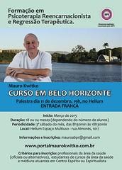 Dia 11 de dezembro darei uma palestra no Espaço Helium, em Belo Horizonte. Entrada franca!
