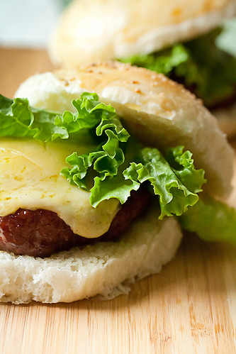 Smoked Brisket Burgers w/ Spicy Onion Jam
