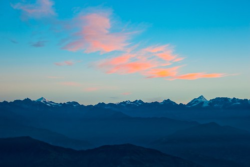 日出 尼泊尔 纳加阔特