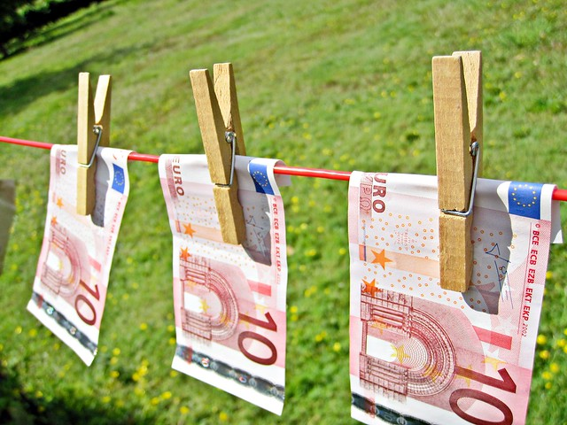 Money Laundering - Euros from Flickr via Wylio