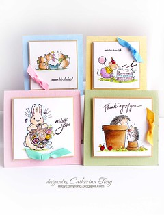 penny black pastel cards set
