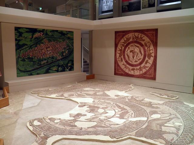 Orpheus Mosaic, Corinium Museum (Cirencester)