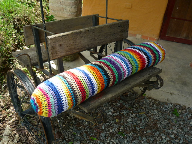 cojin gigante tejido a crochet | Flickr - Photo Sharing!