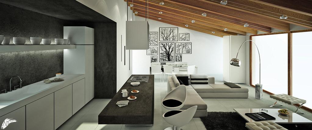 Progetto di interior design per un appartamento for Appartamento interior design