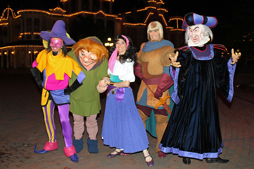 Meeting the Hunchback of Notre Dame Characters