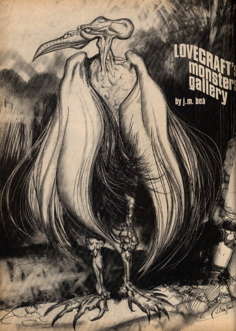 Josep M. Beá - Lovecraft Monster Gallery - 7
