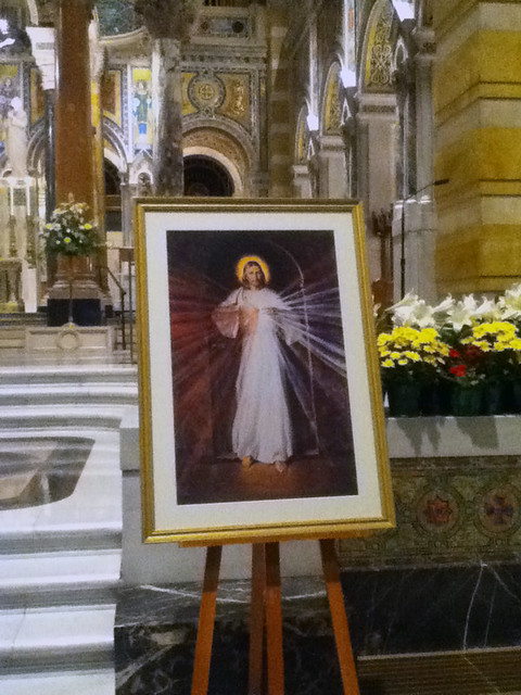Cathedral Basilica of Saint Louis, in Saint Louis, Missouri, USA - Divine Mercy