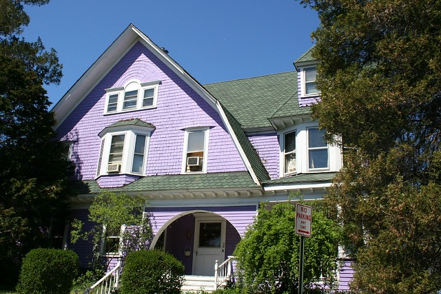 Painted Ladies of Montclair : Purple Haze
