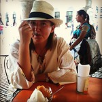 From our new #SpiesEatingSorbet series, Audrey in #Merida #Mexico