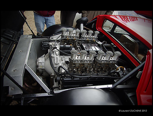 Ferrari 365 GT4/BB engine