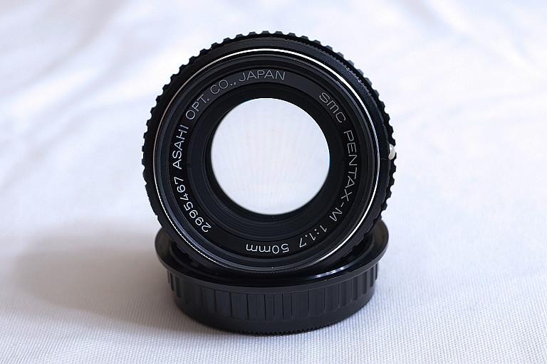 SMC PENTAX-M 1:1.7 50mm