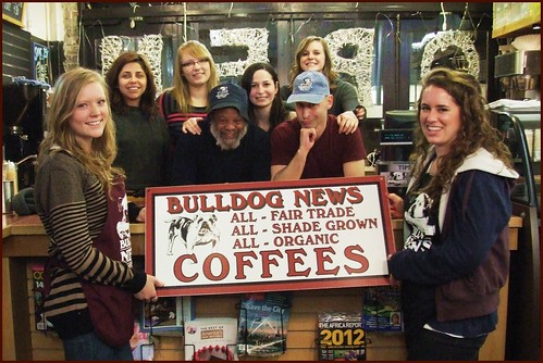 January 2012 - Bulldog Cafe Baristas