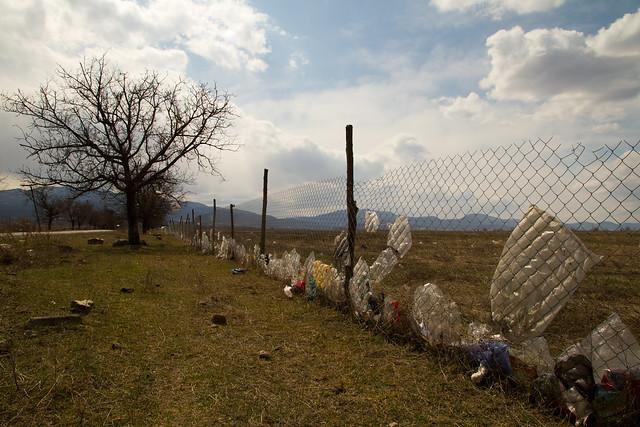 Plastic Bags Near Telavi, Georgia
