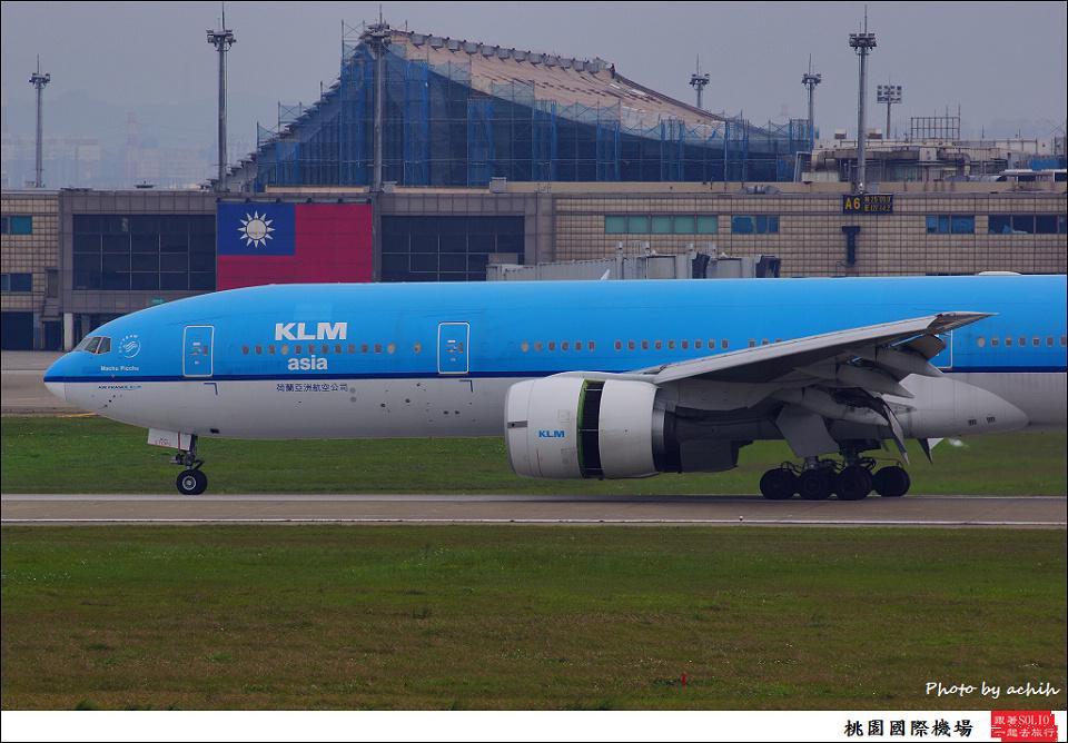 荷蘭亞洲航空PH-BQM客機001