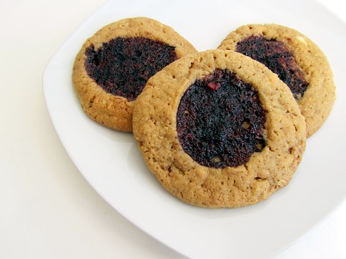 Peanut Butter & Port Thumbprints