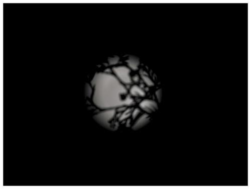 Moon Through Cedars by felixtrio