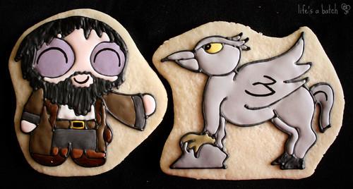 Hagrid & Buckbeak Potterpuff Cookies.