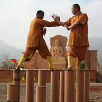 Shifu Kanishka and DaShifu Shi Hengjun Shaolin India Site